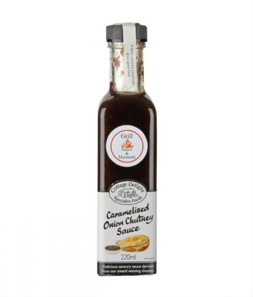 Cottage Delight Caramelised Onion Chutney Sauce 220ml