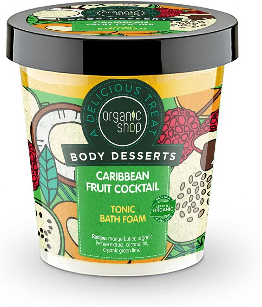 Organic Shop Body Deserts Caribbean Fruit Cocktail 450ml