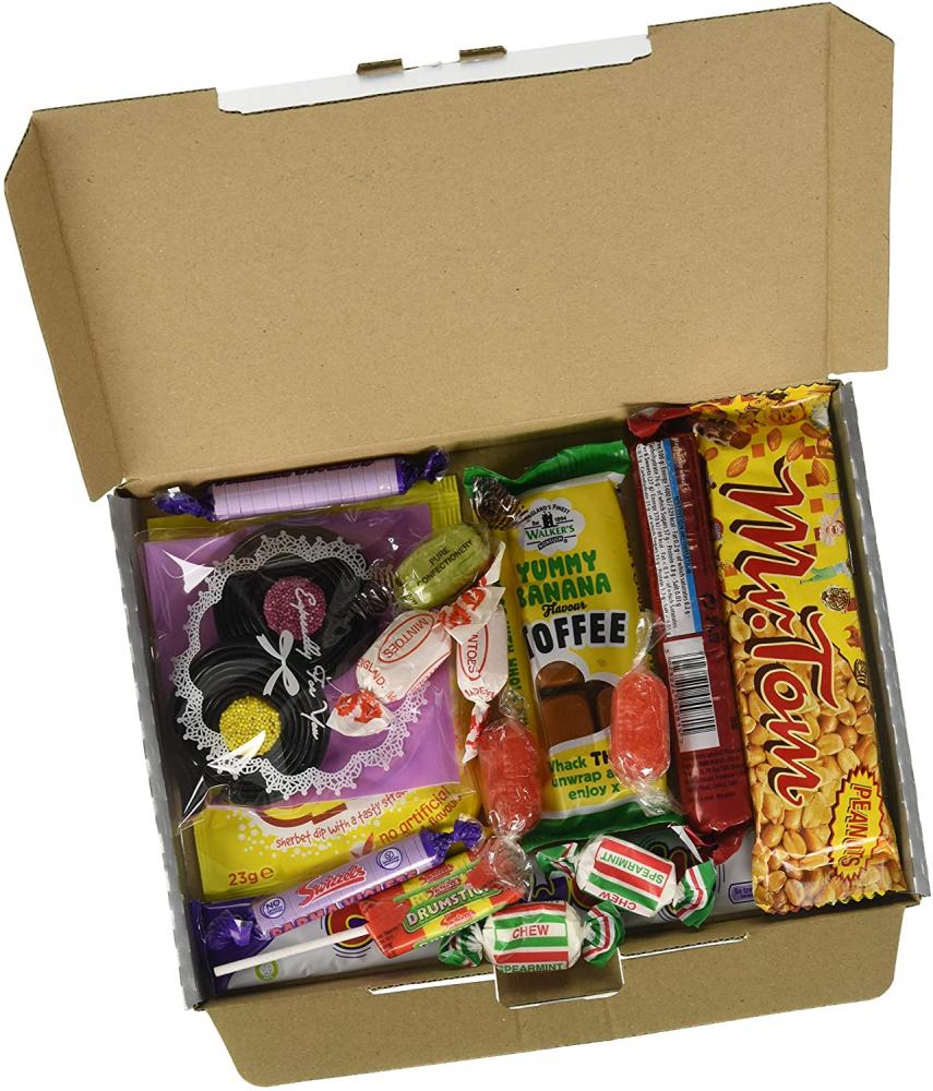 Sweet in The 60s Retro Sweet Selection in Silver Gift Box Celebrating The Sixties.