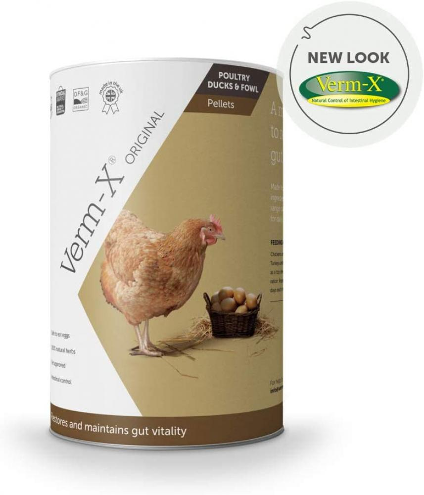 Verm-x Pellets for all Poultry 250g