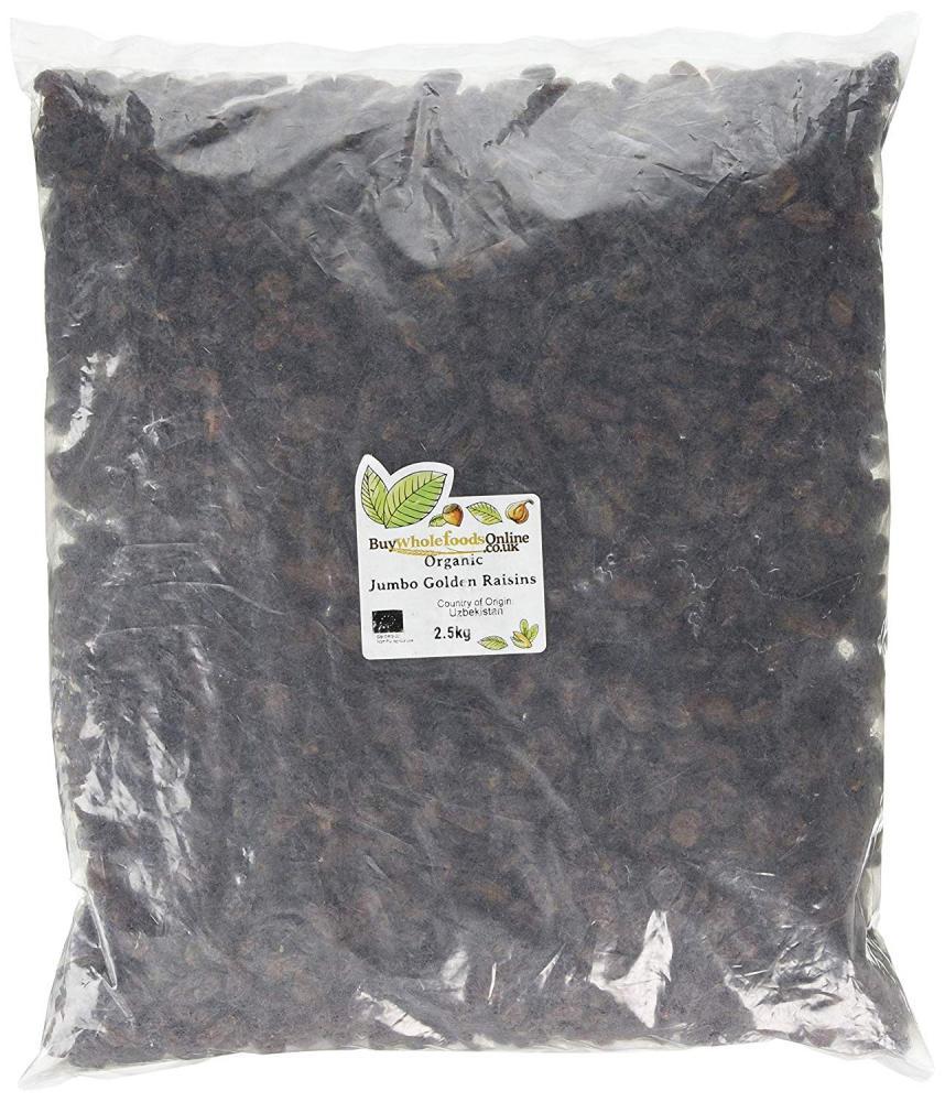 Buy Whole Foods Organic Jumbo Golden Raisins 2.5kg