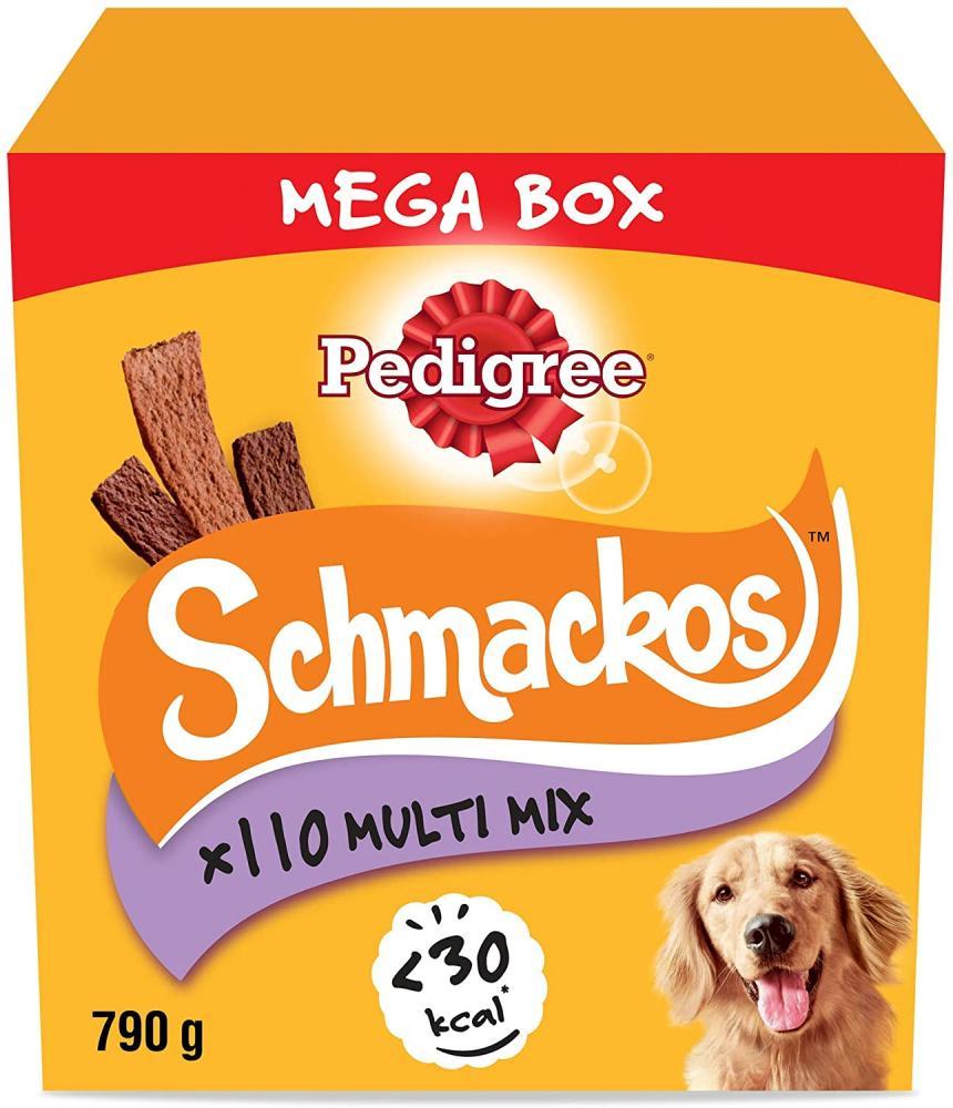 Pedigree Schmackos - Dog Treats Meat Variety 790g