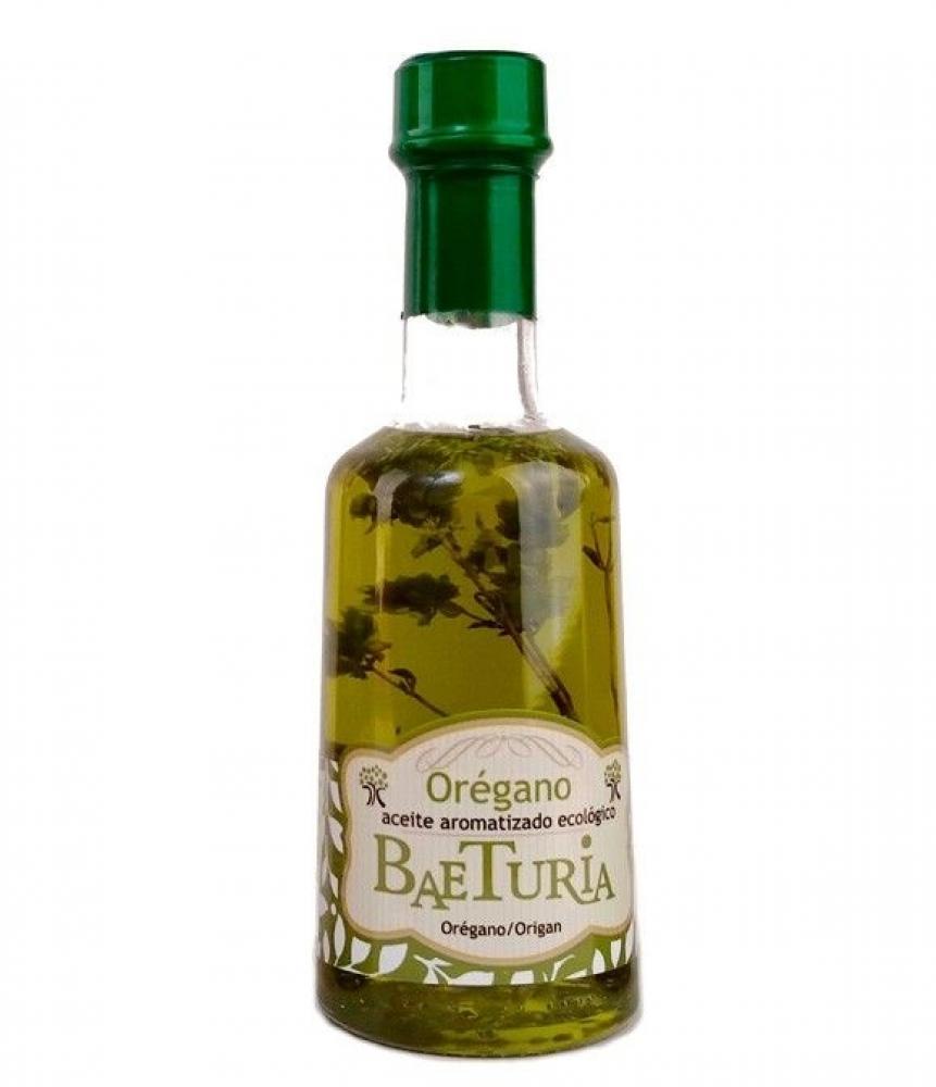 Baeturia Organic Extra Virgin Olive Oil and Oregano 250ml