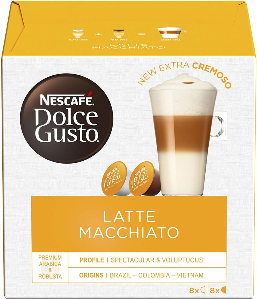Nescafe Dolce Gusto Latte Macchiato Coffee Pods