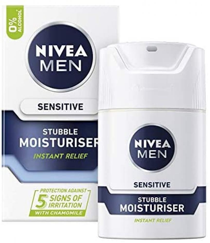Nivea Men Sensitive Stubble Moisturiser 50 ml