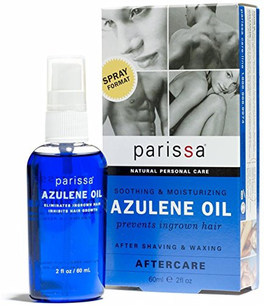 Parissa Azulene After Waxing Oil Chamomile Extract Soothes Skin Helps Prevents Ingrown Hairs Natural Antibiotic and Anti-inflammatory 60 ml No Box