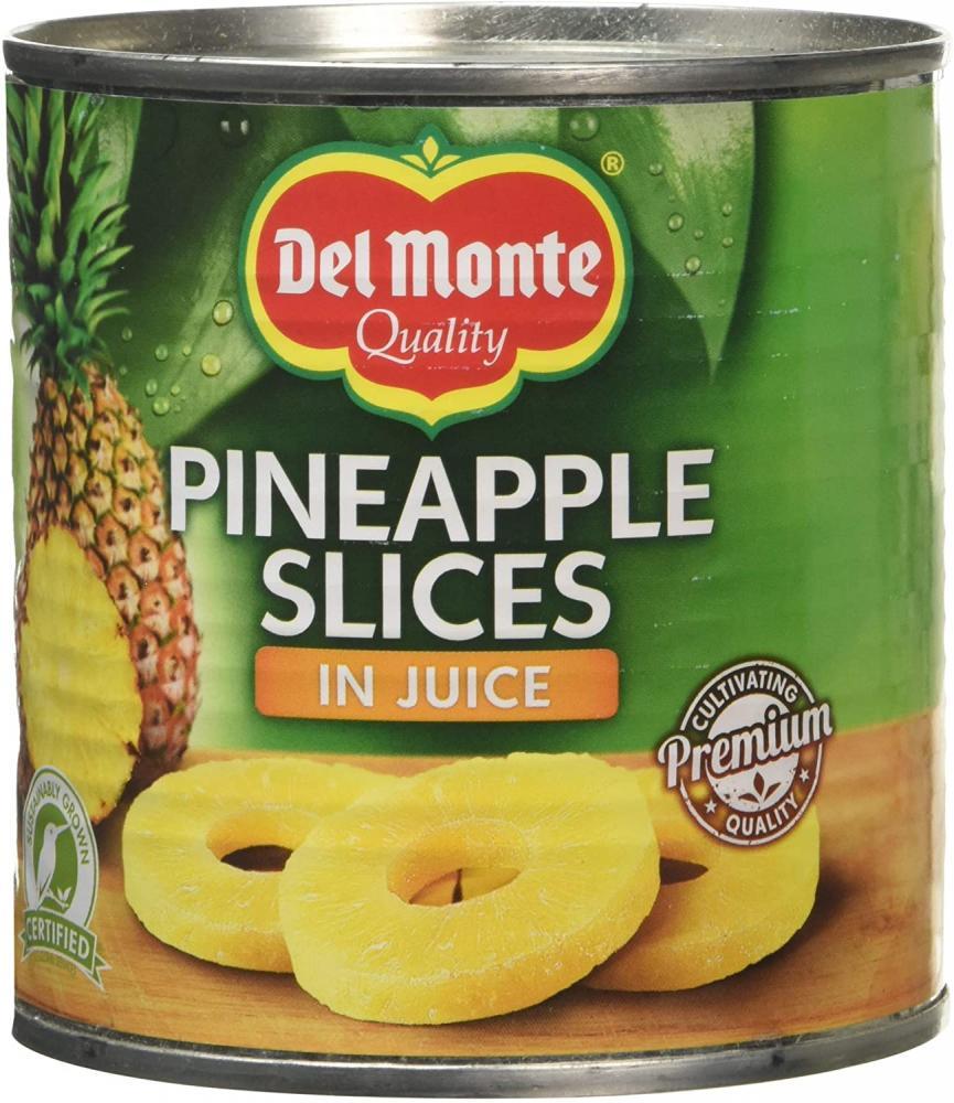 Del Monte Pineapple Slice in Juice 435g