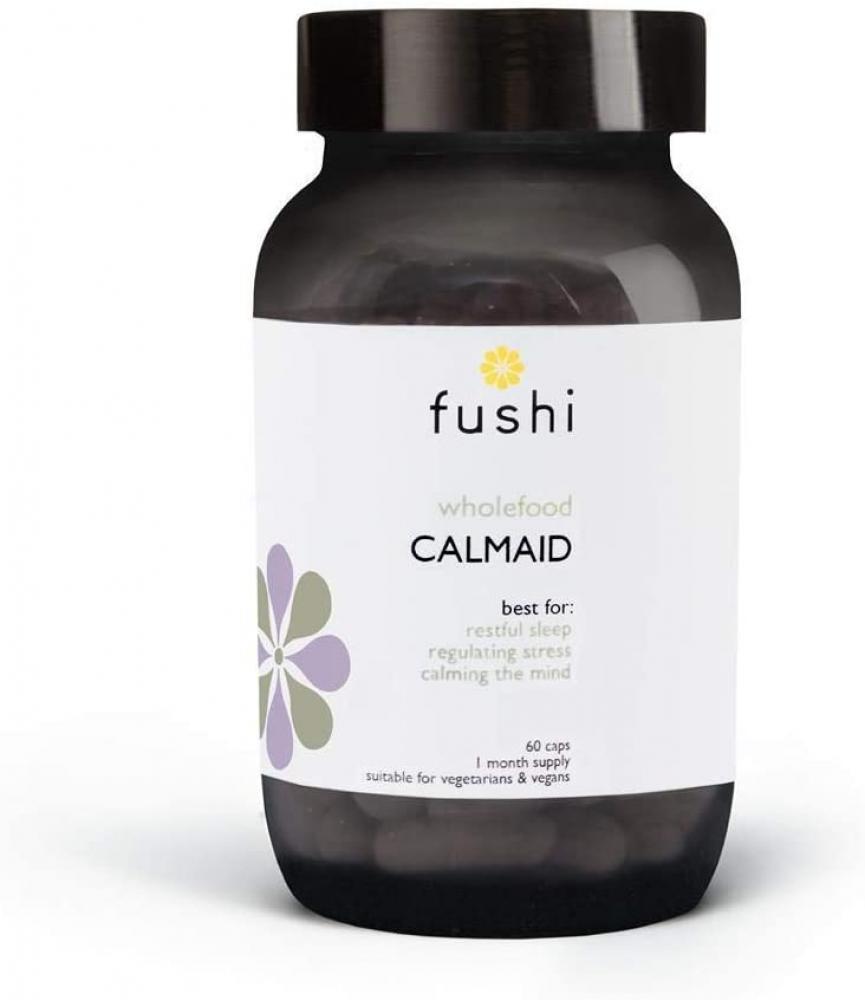 Fushi Calmaid 500mg Stress and Sleep Supplement 60 Capsules