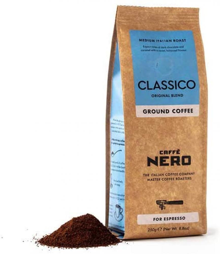 Caffe Nero Classico Espresso Ground Coffee 250g