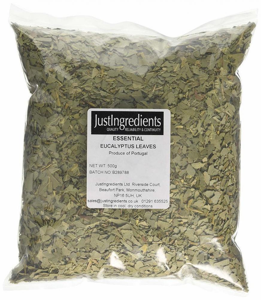 JustIngredients Essentials Eucalyptus Leaves 500g