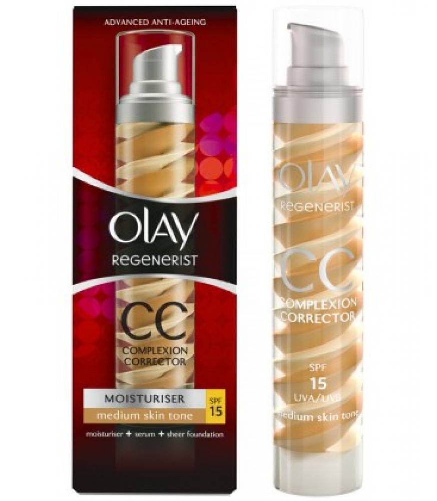 Olay Regenerist CC Cream Complexion Corrector For Medium Skin Tone 50ml