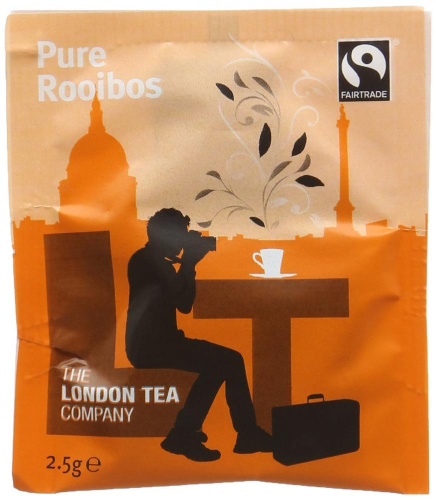 The London Tea Company Fairtrade Pure Rooibos 250 Envelope Teabags