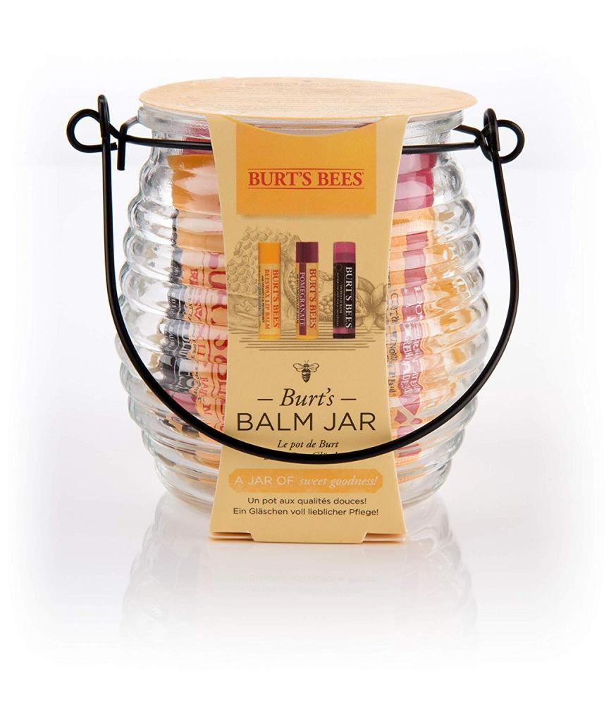 Burts Bees Balm Jar Natural Gift Set 3 x 4.25g