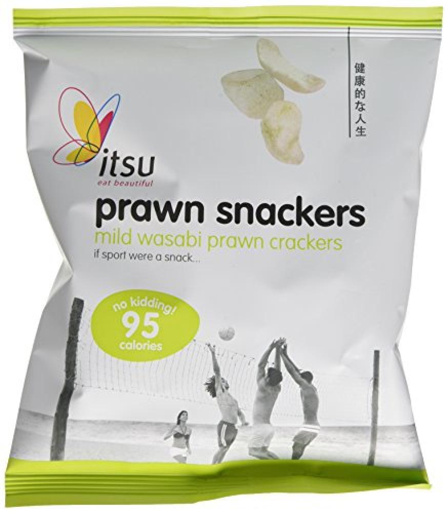 Itsu Mild Wasabi Prawn Crackers 18 g