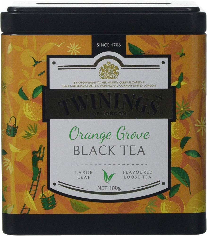 Twinings Orange Grove Loose Leaf Black Tea 100 g