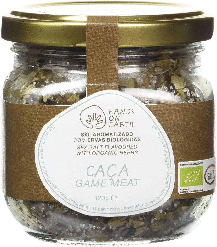Hands on Earth Sea Salt Flavoured with Organic Herbs 120g