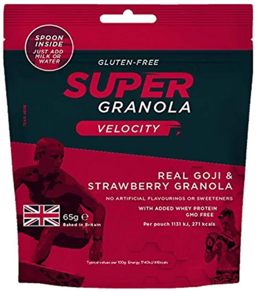 Super Granola Velocity Real Goji and Strawberry Granola 65g