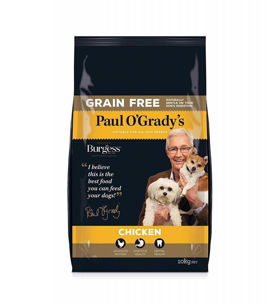 Paul O Grady Dog Food Grain Free Chicken 10kg