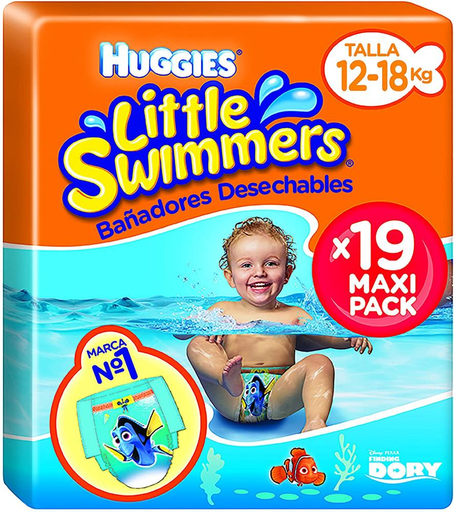 Huggies Little Swimmers L Size 5-6 Maxi Pack x19