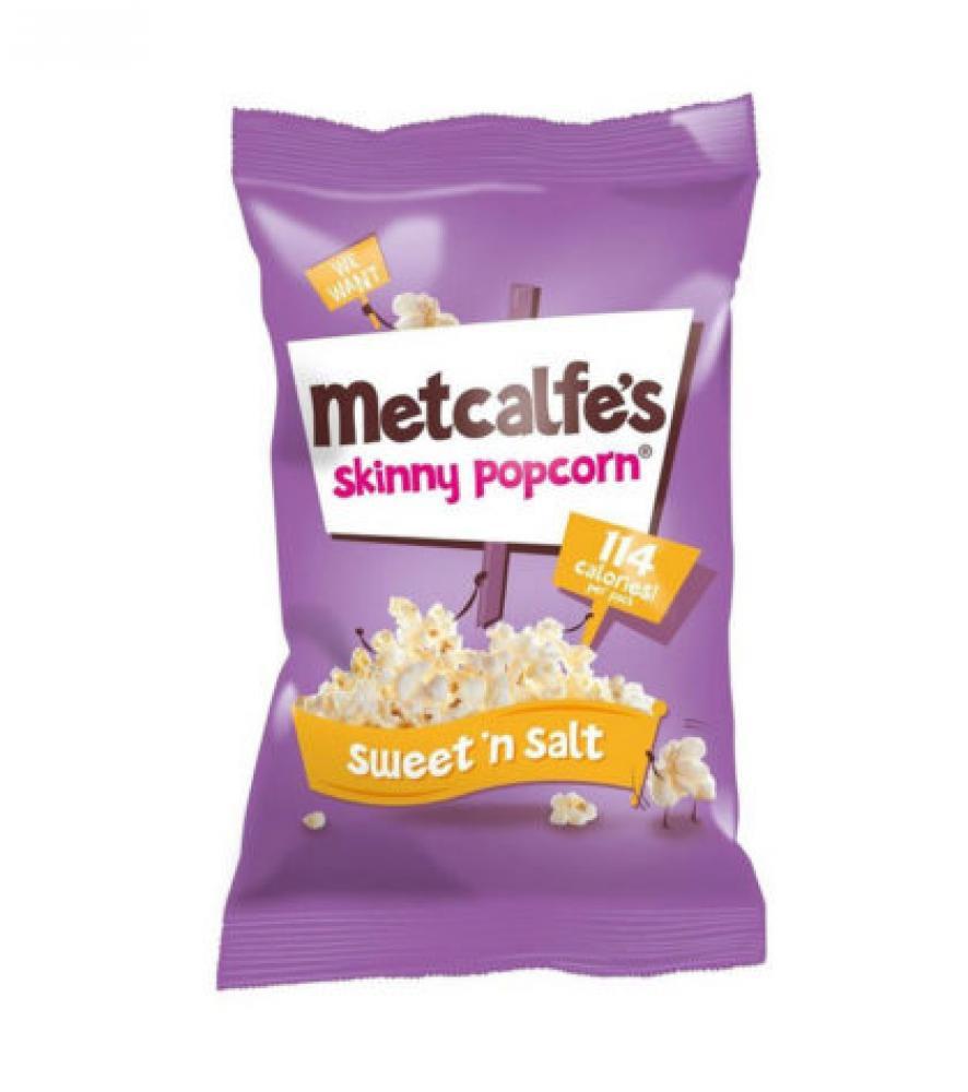 Metcalfes Skinny Popcorn Sweet N Salt 20g