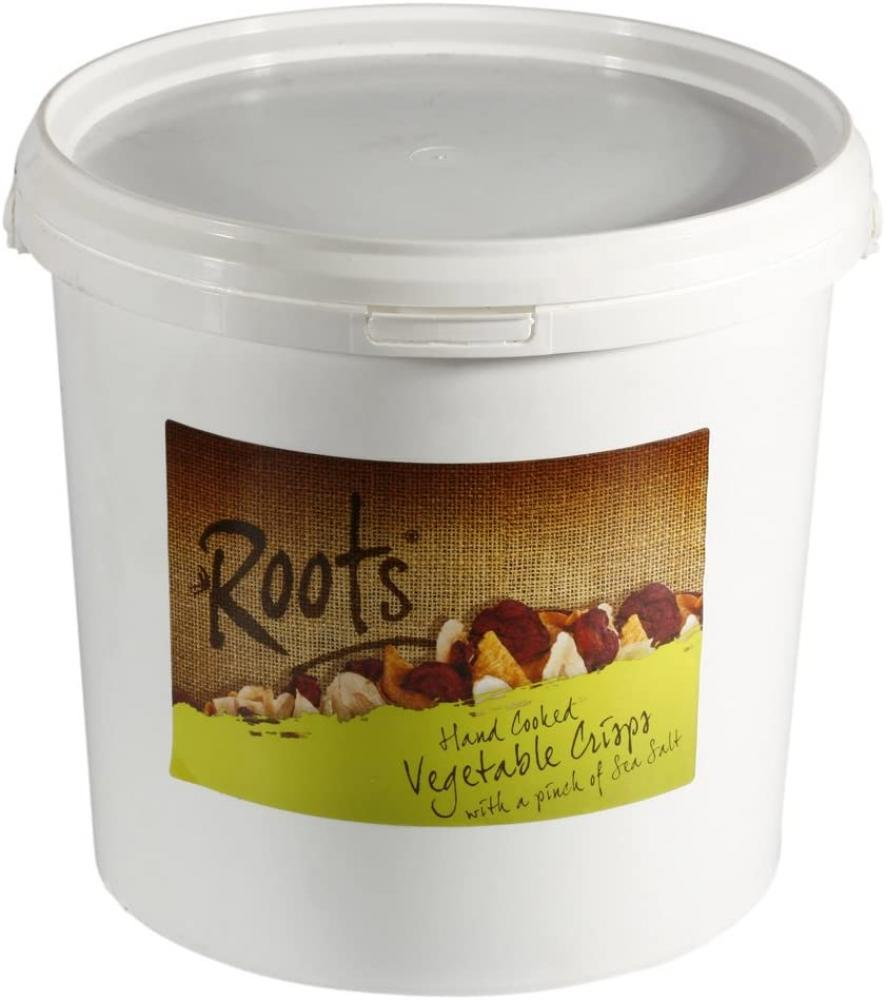 Roots Hand Cooked Vegetable Crisps 600g
