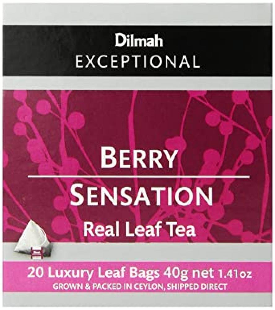Dilmah Red Berry Sensation Tea 20 Sachets 40g