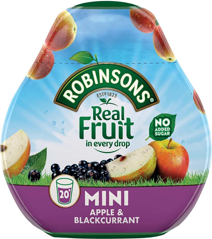 Robinsons Mini Apple and Blackcurrant 66ml