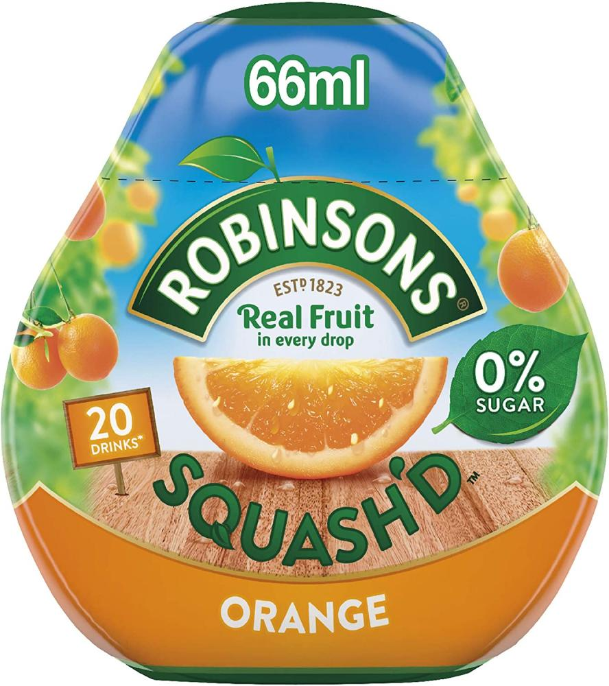 TODAY ONLY  Robinsons SQUASHD Orange 66ml
