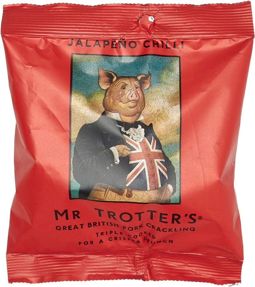 Mr Trotters Triple Cooked Pork Crackling - Jalapeno Chilli 40g
