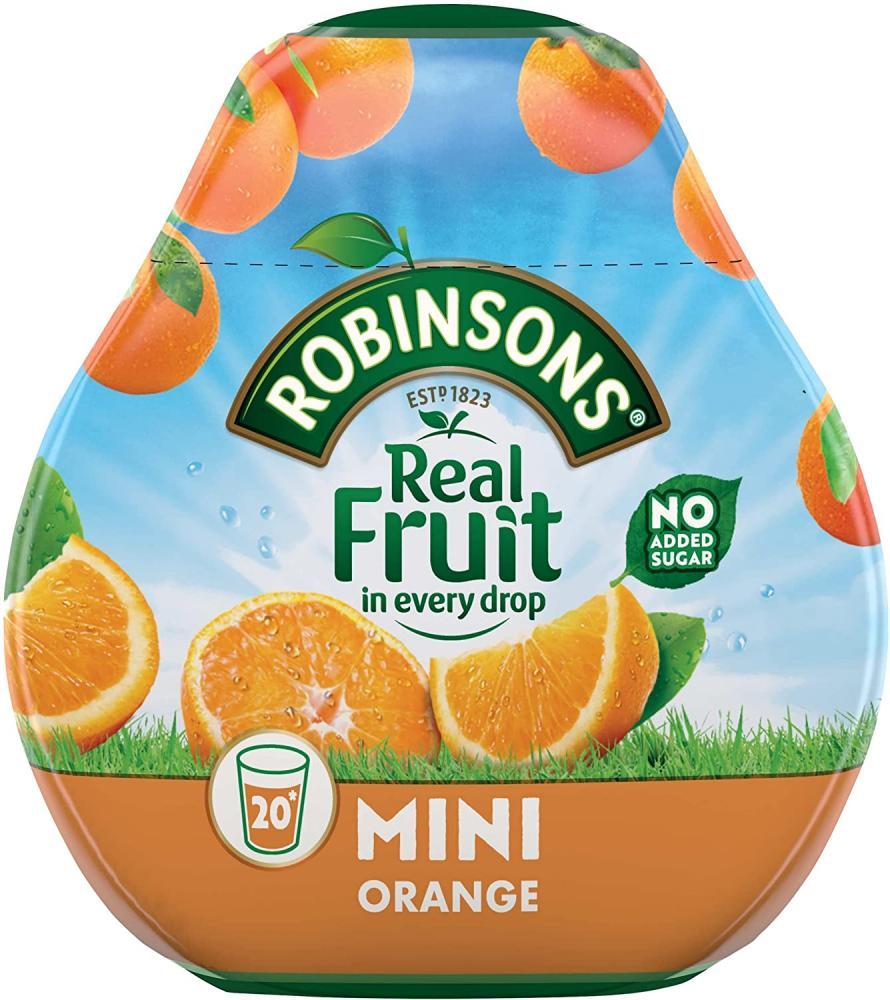 Robinsons Mini No Added Sugar Orange 66ml