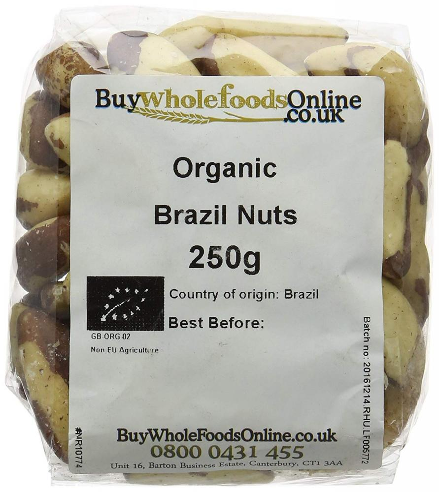 Buy Whole Foods Organic Brazil Nuts 250g