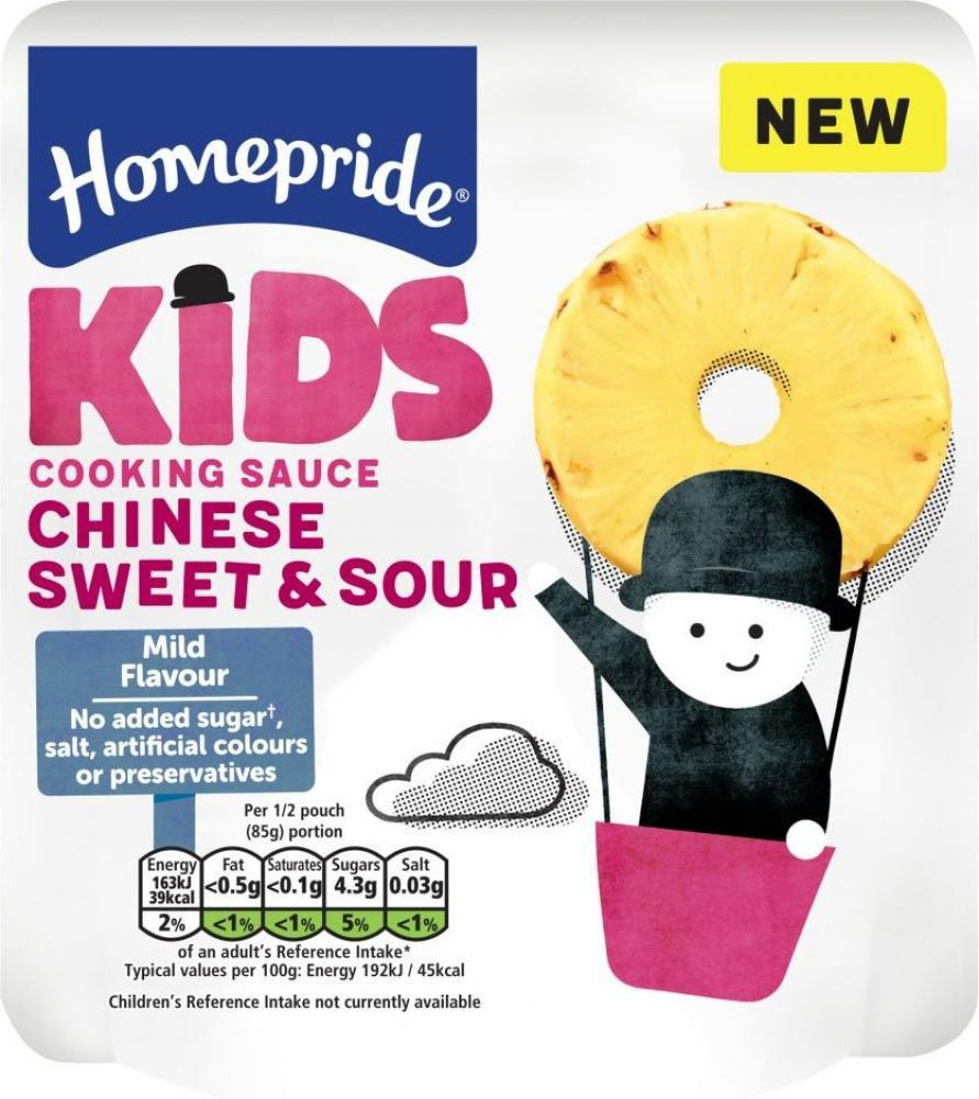 Homepride Kids Chinese Sweet and Sour Cooking Sauce 170g