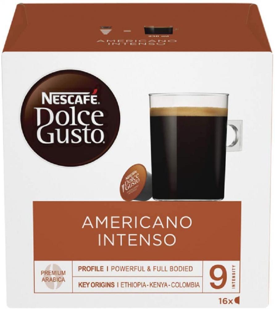 Nescafe Dolce Gusto Americano Intenso Coffee Pods 16 Capsules