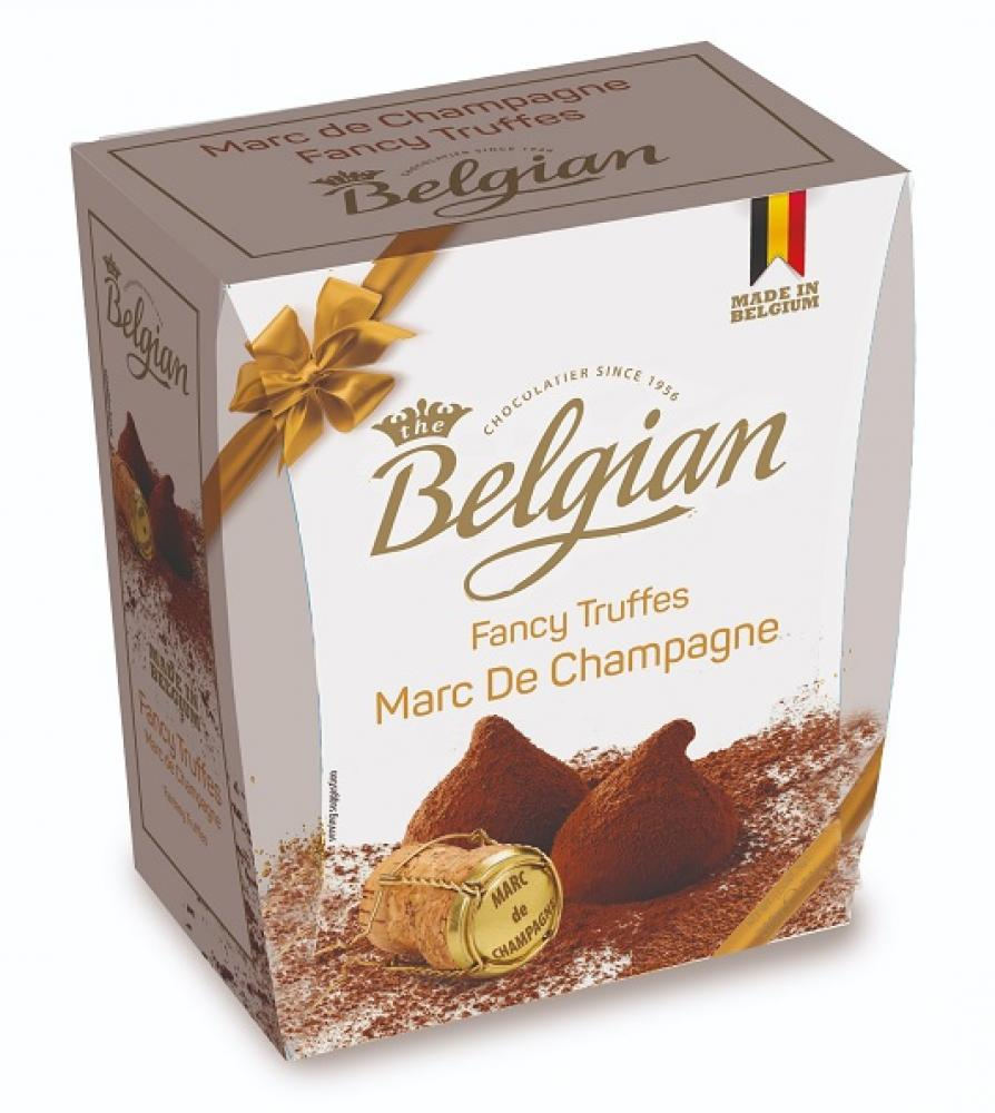 Belgian Marc De Champagne Fancy Truffles 200g