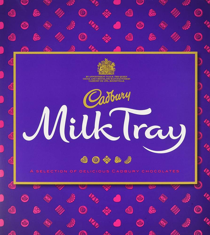 Cadbury Milk Tray Pralines Assortment Chocolate Box 360g
