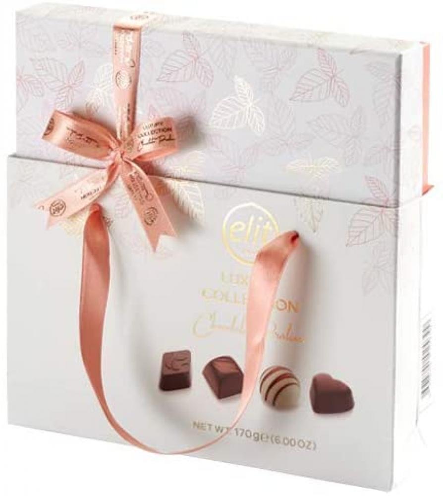 Elit Chocolate Luxury Pink Collection Chocolate Pralines 170g