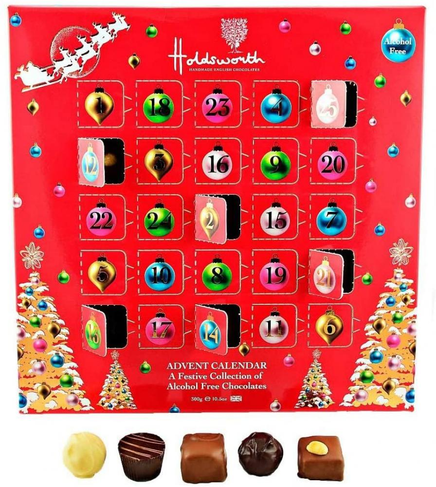Holdsworth Chocolates Truffle Advent Calendar 300g