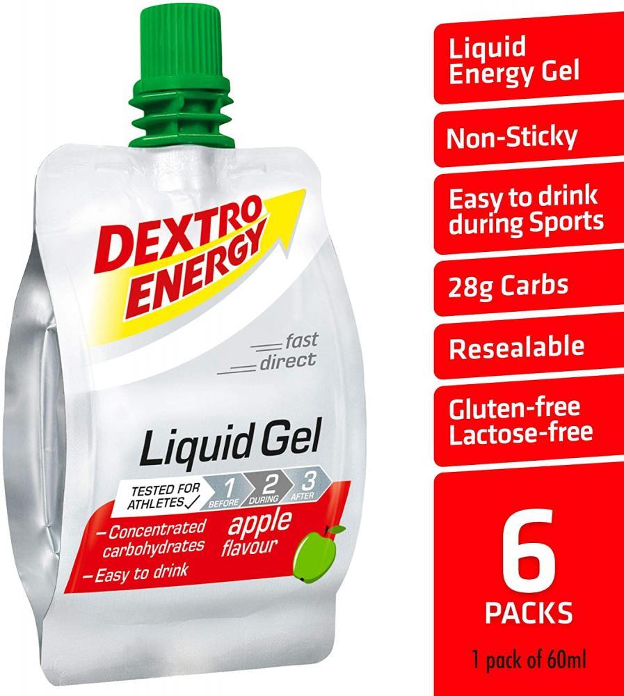 Dextro Energy Energy Gel Apple Flavour 60ml