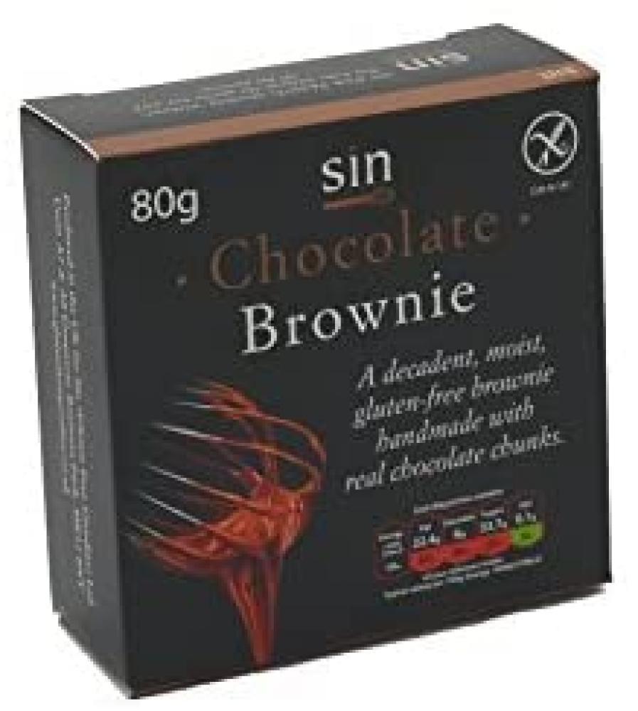 Sin Gluten Free Chocolate Brownie 65g