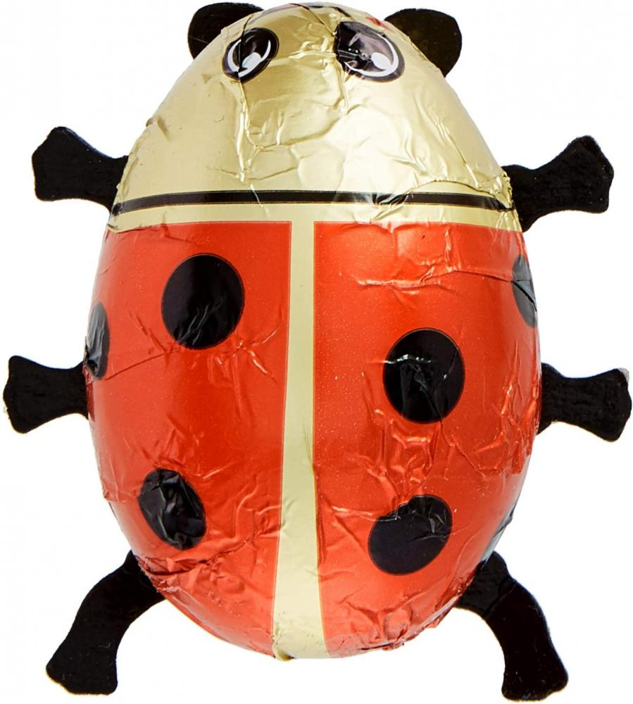 Baur Chocolate Chocolate Ladybirds with Red Foil 45g