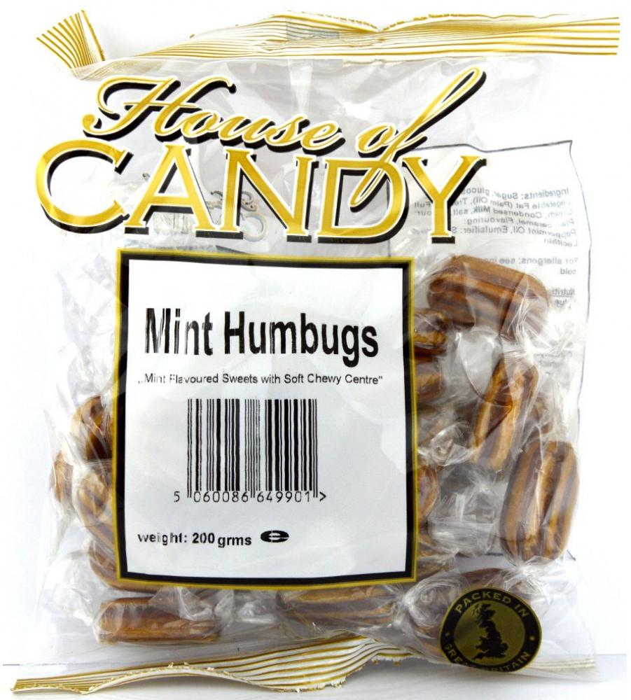 House Of Candy Mint Humbugs 200g