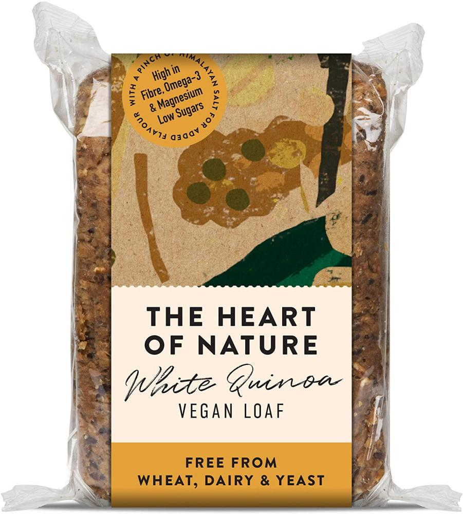 The Heart of Nature Seeded Vegan Loaf with Quinoa 550g