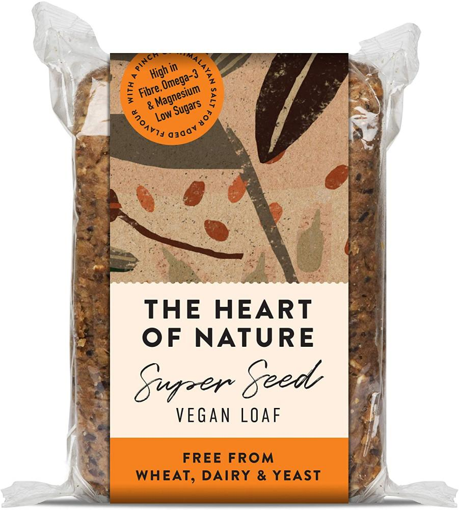 The Heart of Nature Super Seed Vegan Loaf 550 g