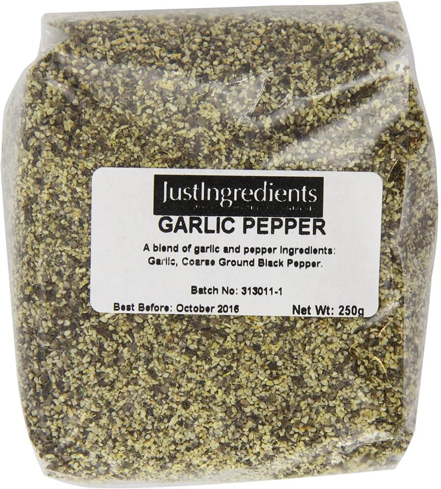 JustIngredients Essentials Garlic Pepper 250g