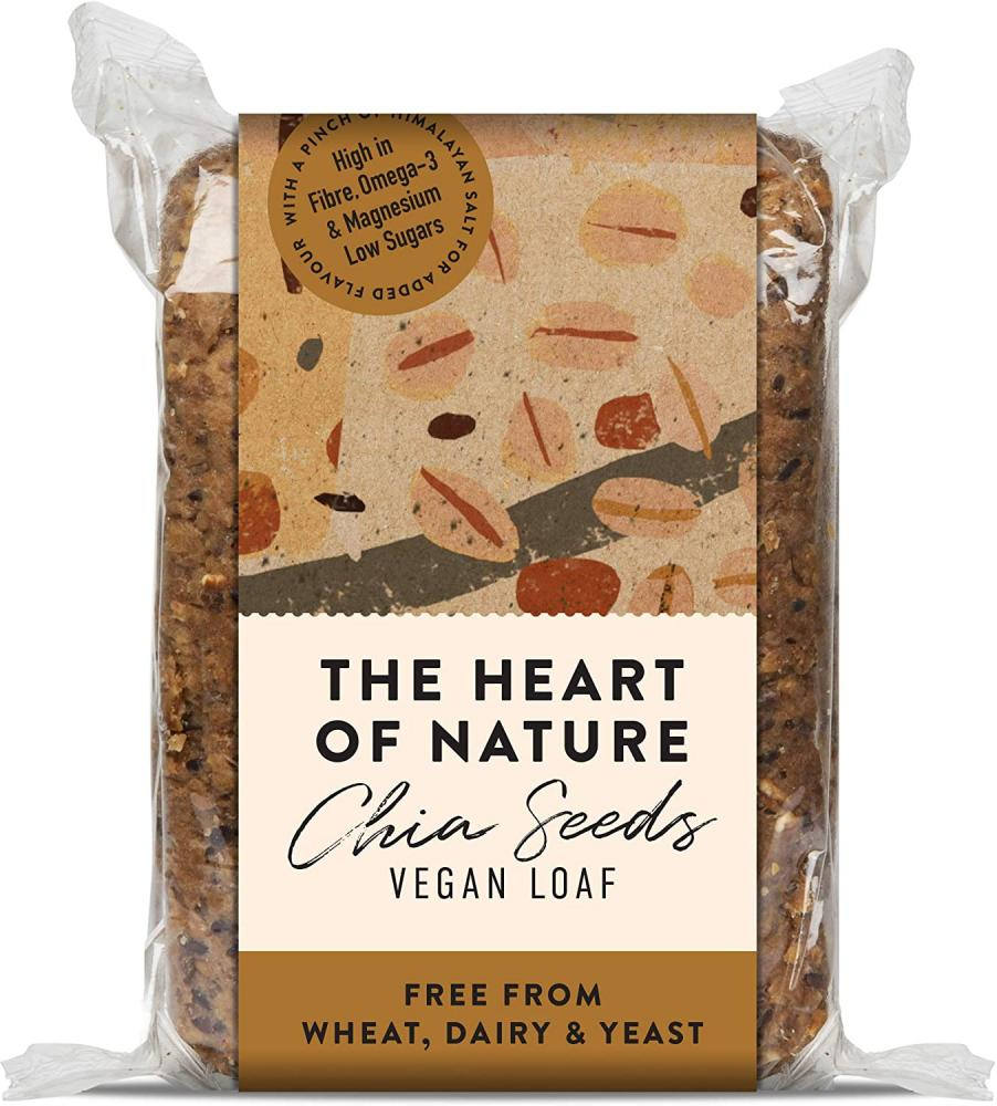 The Heart of Nature Chia Seeds Vegan Loaf 550 g