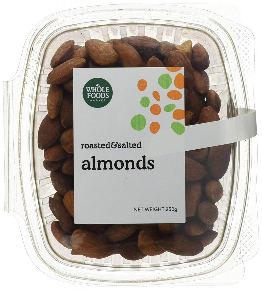 Whole Foods Market Roasted and Salted Almonds 250g