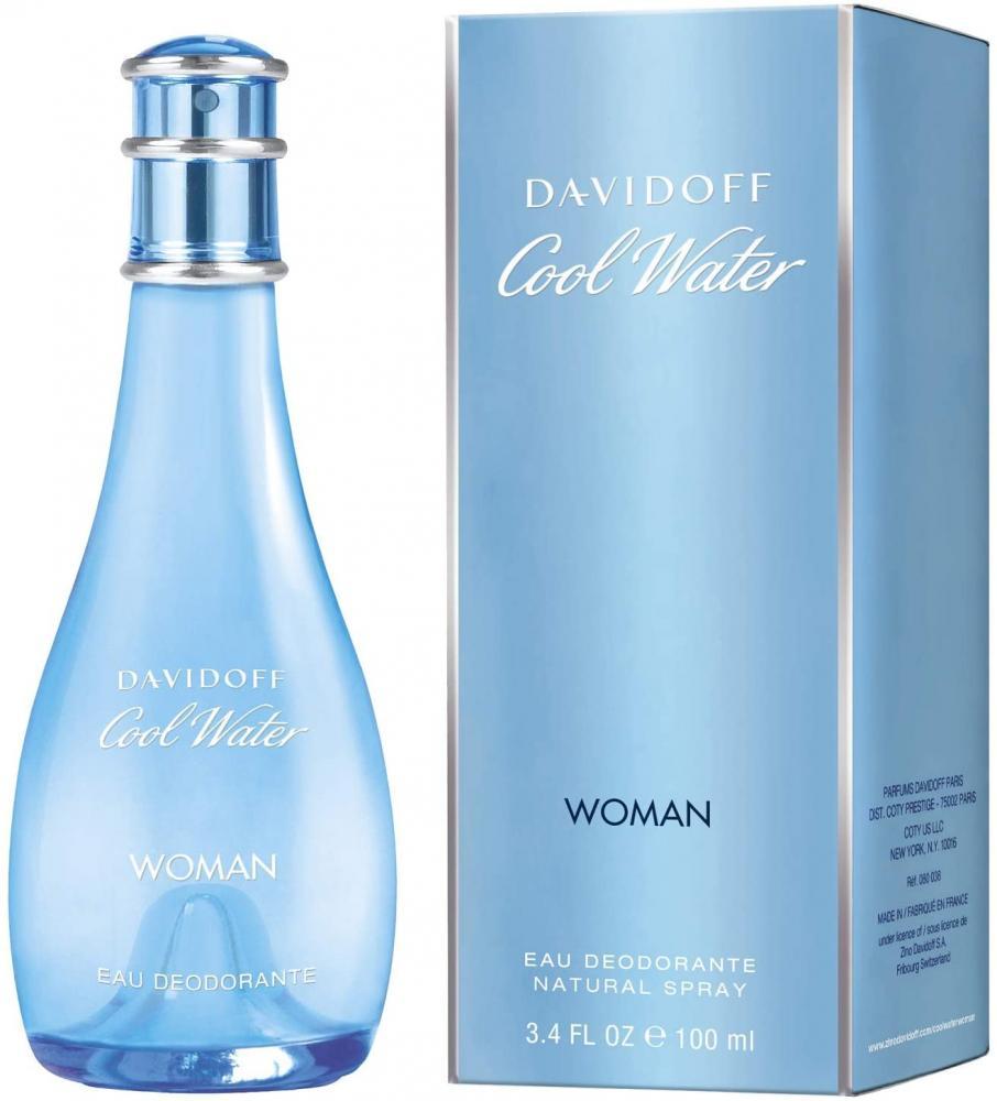 Davidoff Cool Water Woman Mild Deodorant 100 ml