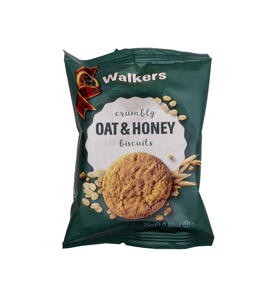 Walkers Shortbread Oat and Honey Biscuits 25g