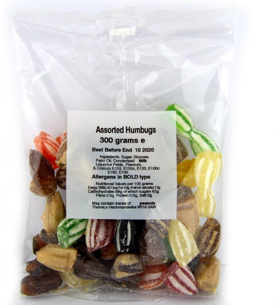 Thornes Assorted Humbugs 300g