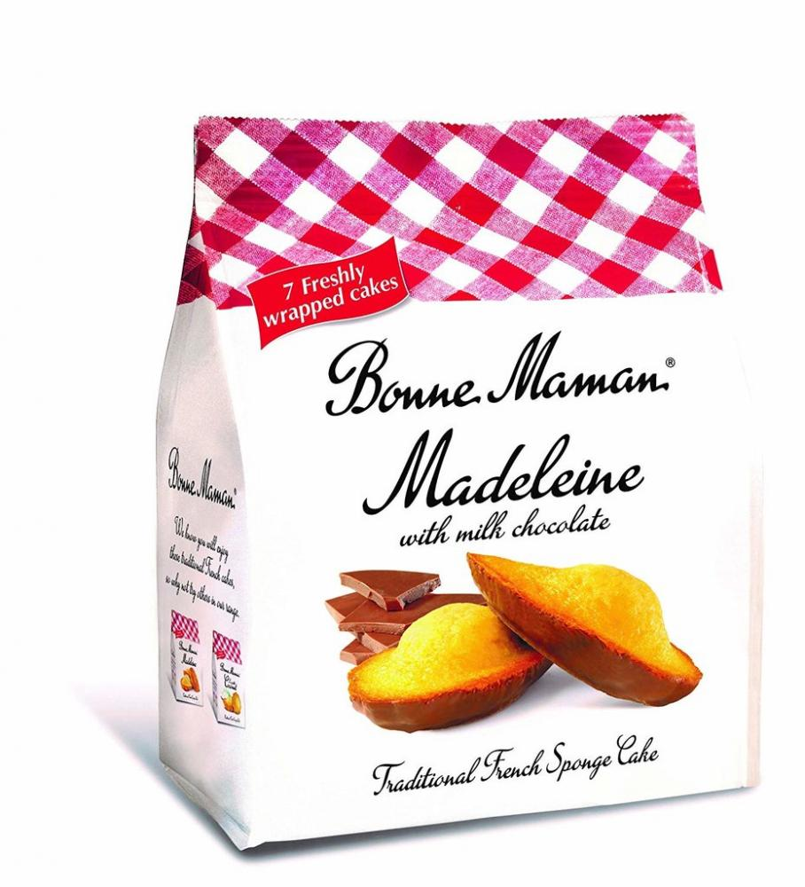 Bonne Maman Madeleine With Milk Chocolate 210g